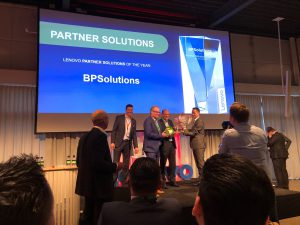 BPSOLUTIONS wint Lenovo Partner of the Year Award 2017-2018