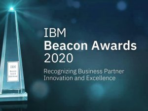 BPSOLUTIONS wint IBM Beacon Finalist Award 2020