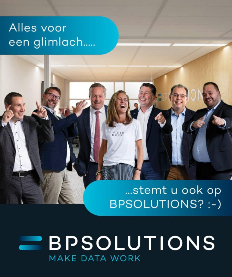 BPSOLUTIONS genomineerd voor de Dutch IT Channel Awards